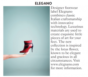 Elegnano in Vogue UK